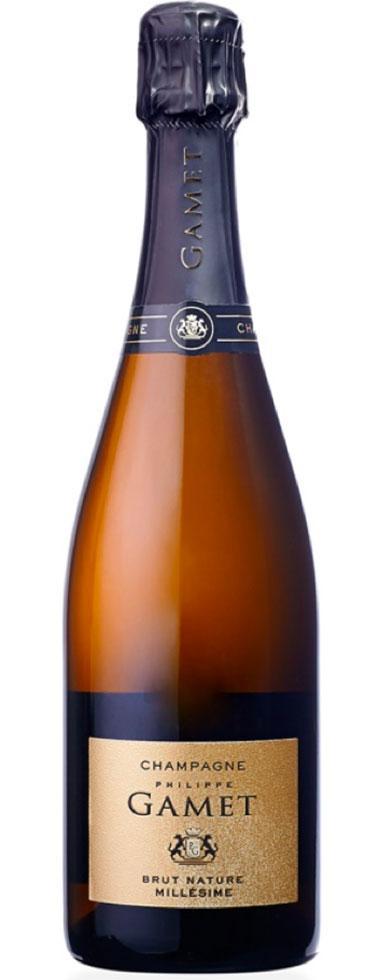 Champagne Gamet cuvée Millésimé 2013